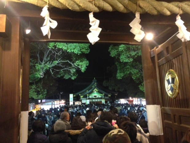 一宮市,本町,たなばた接骨院,真清田神社,初詣,正月